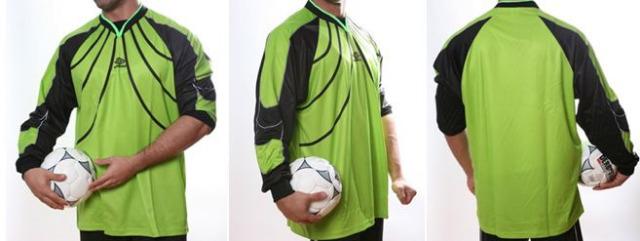 Fußball Torwart Trikots von UMBRO - 10 verschiedene Modelle - hier art.nr. 970 gruen_schwarz