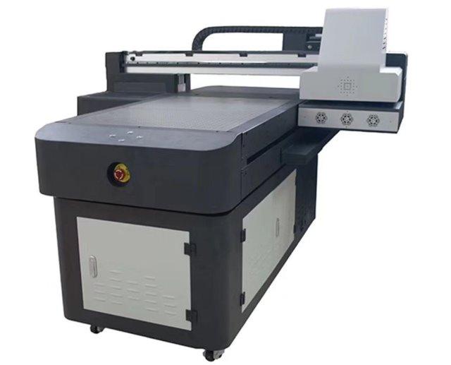 UV Drucker Flatbed Weiß + Farbig Druckfläche 60x90cm 170mm
