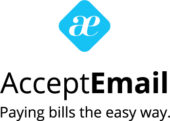 Logo acceptemail staand payoff en