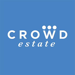 Crowd estate logo blue square 300x300