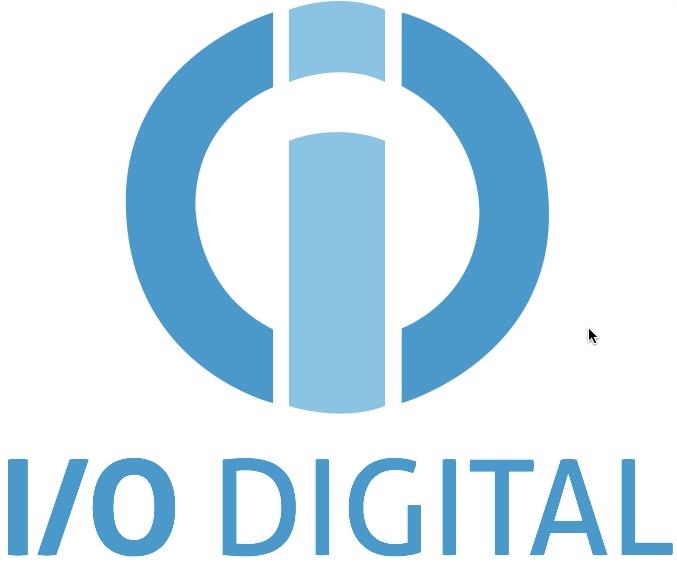 Iodigital logo wit