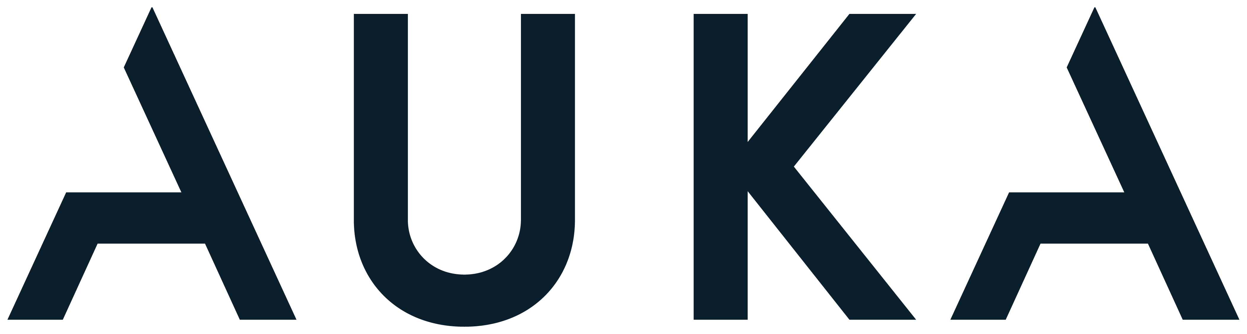 Auka logo blue