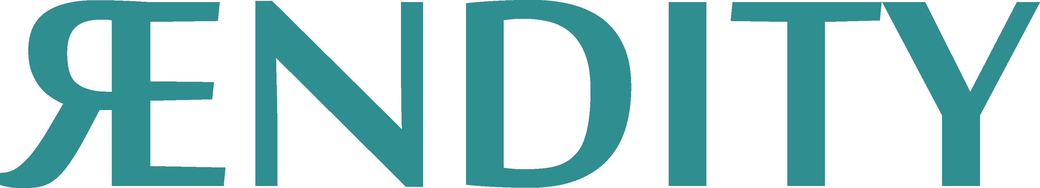 Rendity logo green