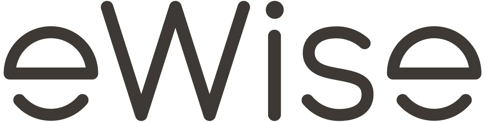 Ewise logo black