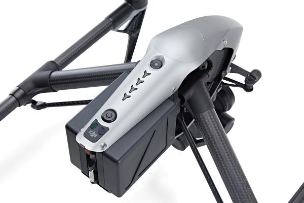 DJI Inspire 2 (ohne Haupt-Kamera, mit Flug-Kamera)