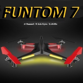 Funtom 7 Quadrocopter Drohne