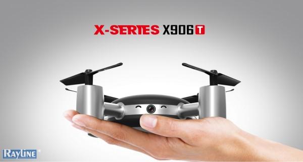 RC DROHNE DRONE Quadrocopter MJX X906T mit FPV 5,8 GHZ VIDEO ÜBERTRAGUNG
