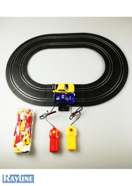 Autorennbahn mit 2 Slot Cars F3022