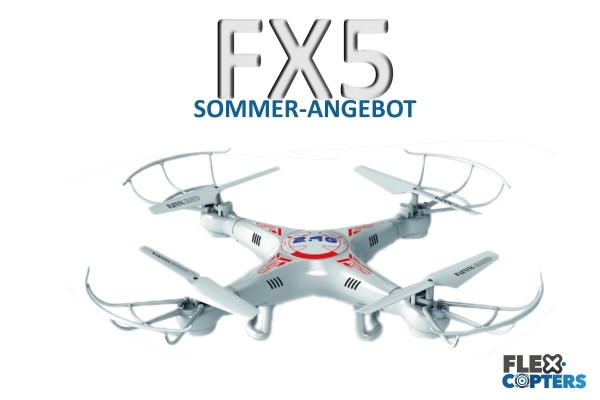 FX5 Quadrokopter von Flexcopters