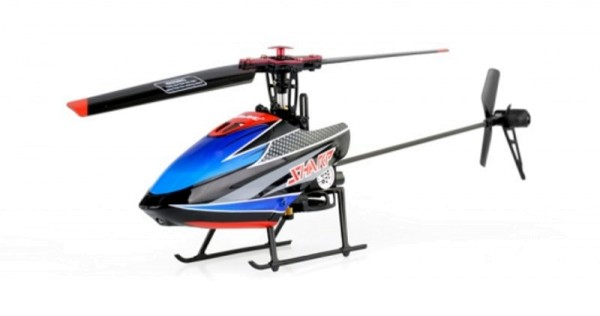 Sharp Flybarless RC Helicopter