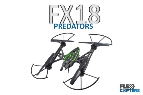 FX18 Quadrokopter von Flexcopters