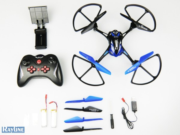 Rayline R8 Quadrocopter Drohne