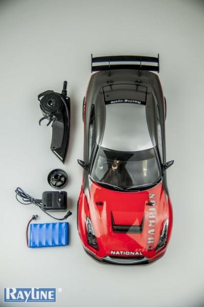 RC Car mit Gummi Reifen ESD899-40A 2.4 Ghz Fernsteuerung für hohe Reichweite