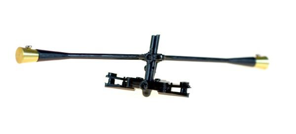 M5 Balancestange mit Halterung oberes Rotorblatt
