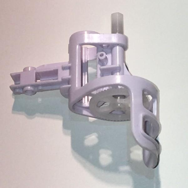 Flexcopter FX6 Quadrocopter Ersatzteil Motorhalter inkl. Achse und Zahnrad