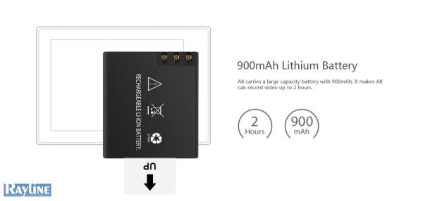 Rayline PX 8 Action Kamera 720p OUTDOOR ähnlich GOPRO