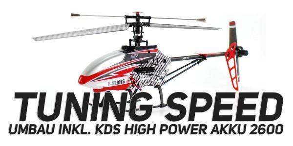 Tuning Speed + Powerakku 2600 MJX 645