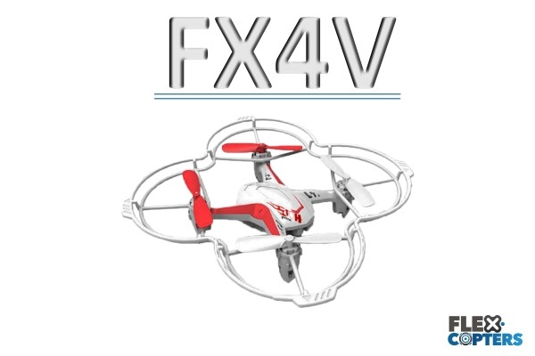 FX4V Quadrokopter von Flexcopters
