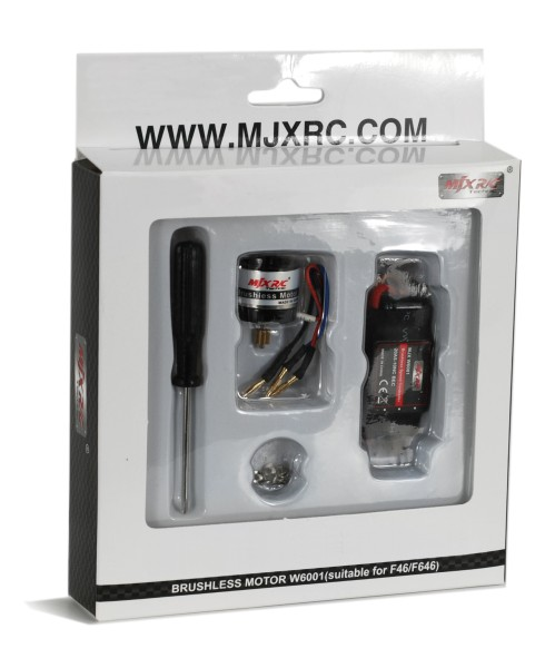 MJX F46 F646 Upgrade Brushless Motor Set W6001