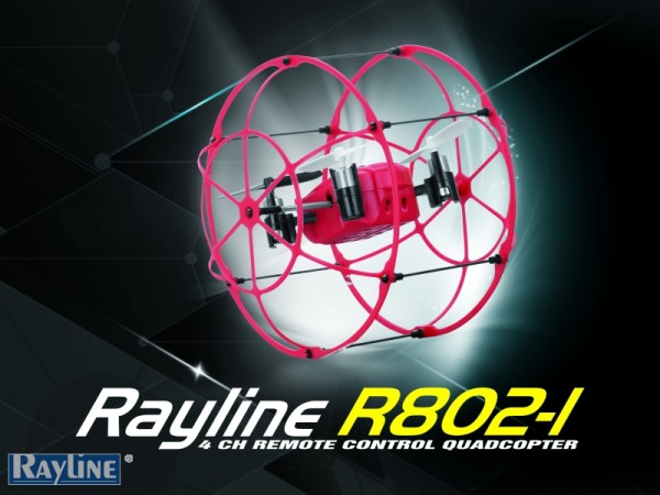 Rayline R802-1 Quadrocopter Drohne
