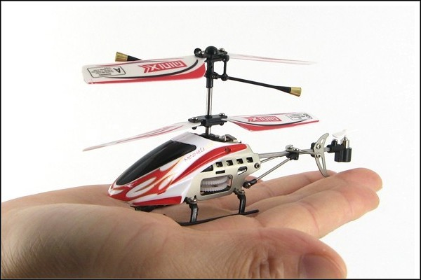 MiniX - S110G WELTNEUHEIT - 3,5 Kanal mit Gyro