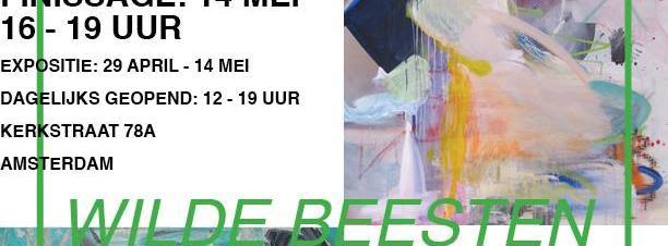 Finissage Tentoonstelling Wilde Beesten Galerie Fleur Wouter