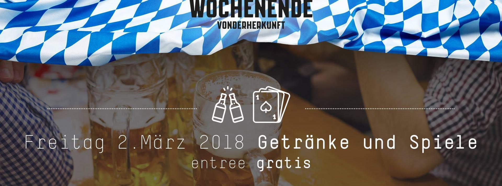 Getränke und Spiele | Das bayerische Wochenende Vonderherkunft ...
