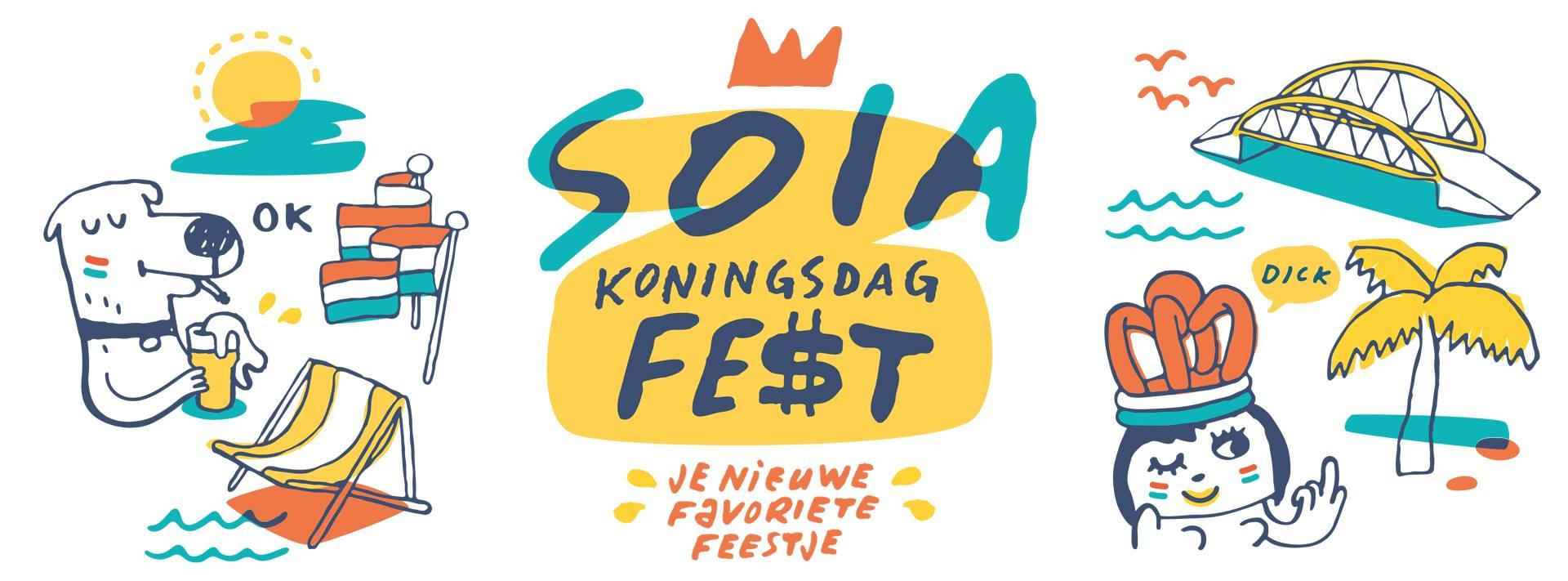 Soia Koningsdag Fest At Soia Strand Oog In Al Goneout