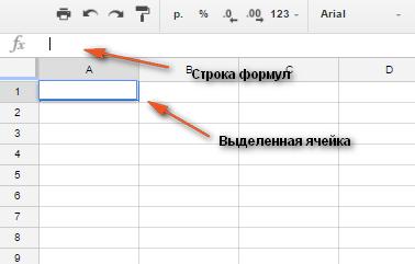 Как добавить новую формулу в Гугл таблицах.
