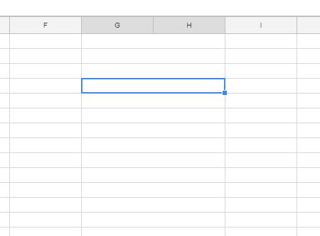 объединение колонок в гугл таблицах