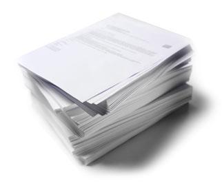 Dokumenty oddane w ręce specjalistów z zewnątrz