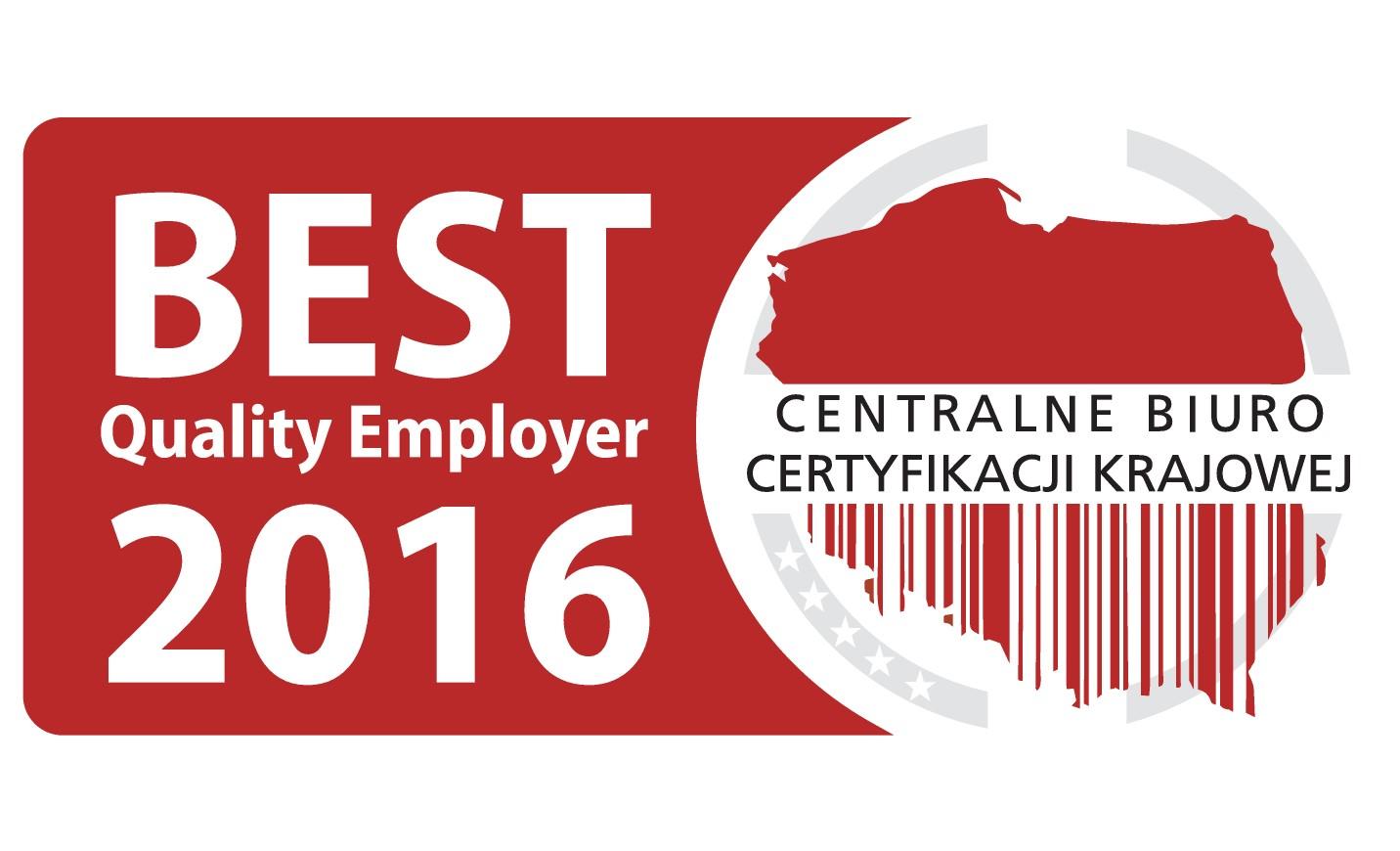 Ogólnopolski Program Best Quality Employer 2016