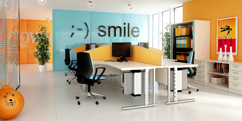 Kolory w biurze