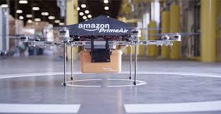 Amazon  testuje możliwość wykorzystania dronów do dostarczaniu przesyłek