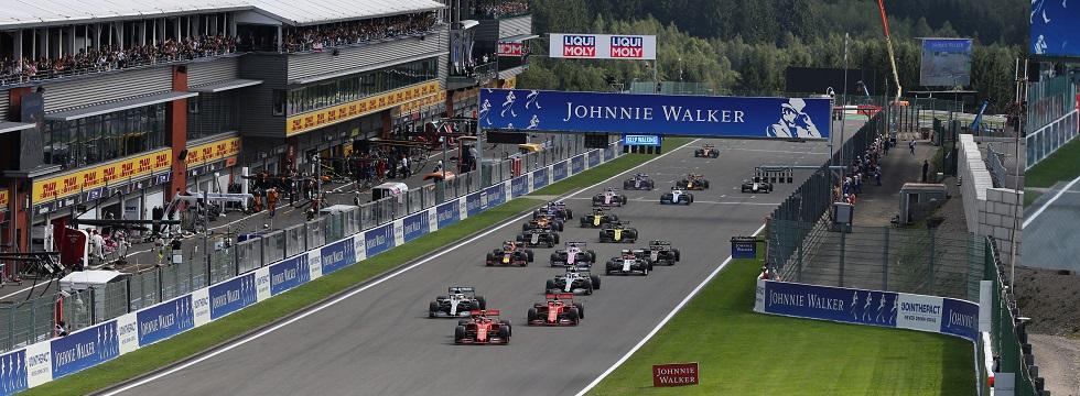 Formula 1 Belgian Grand Prix 2020