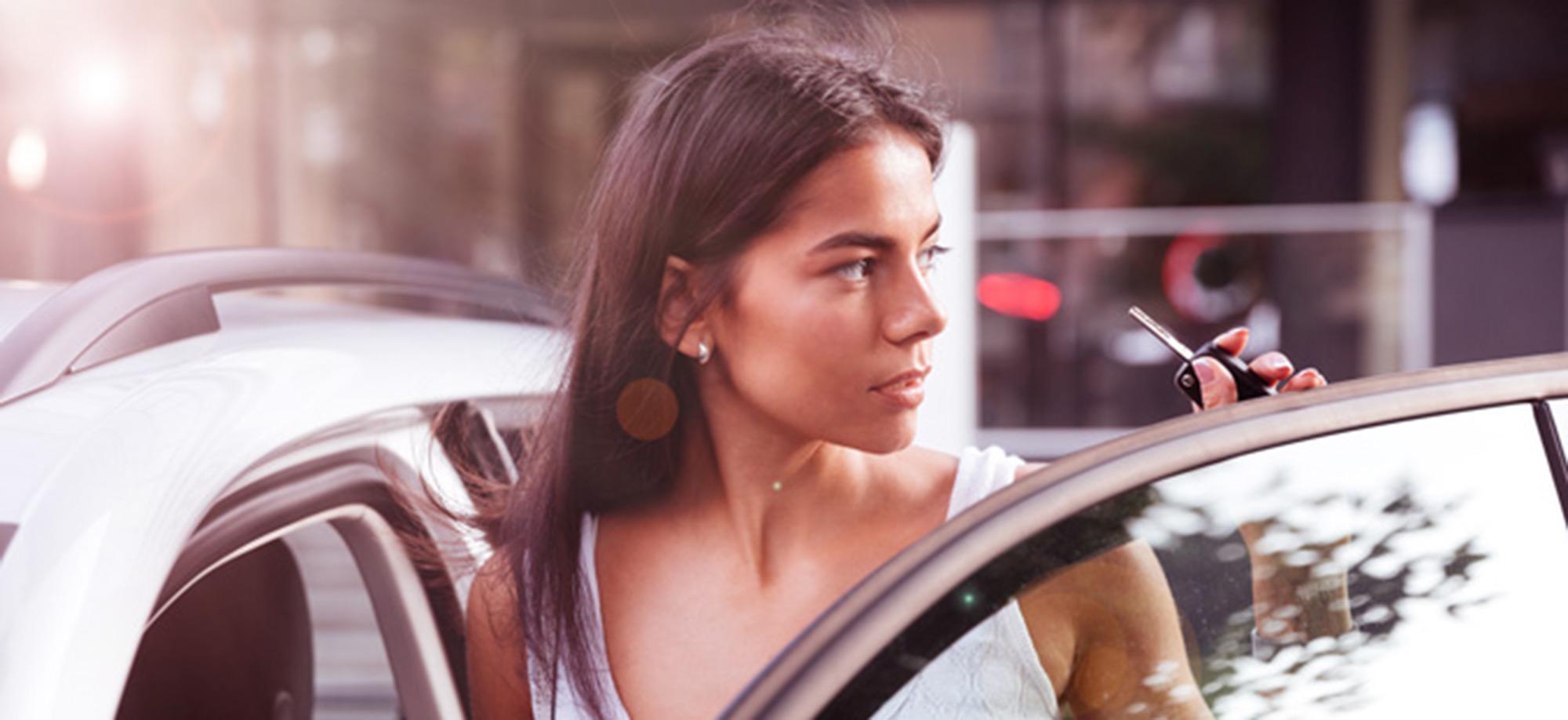 Elektromobilität Frau
