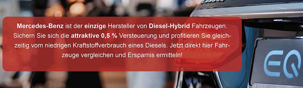 Banner Diesel-Hybrid