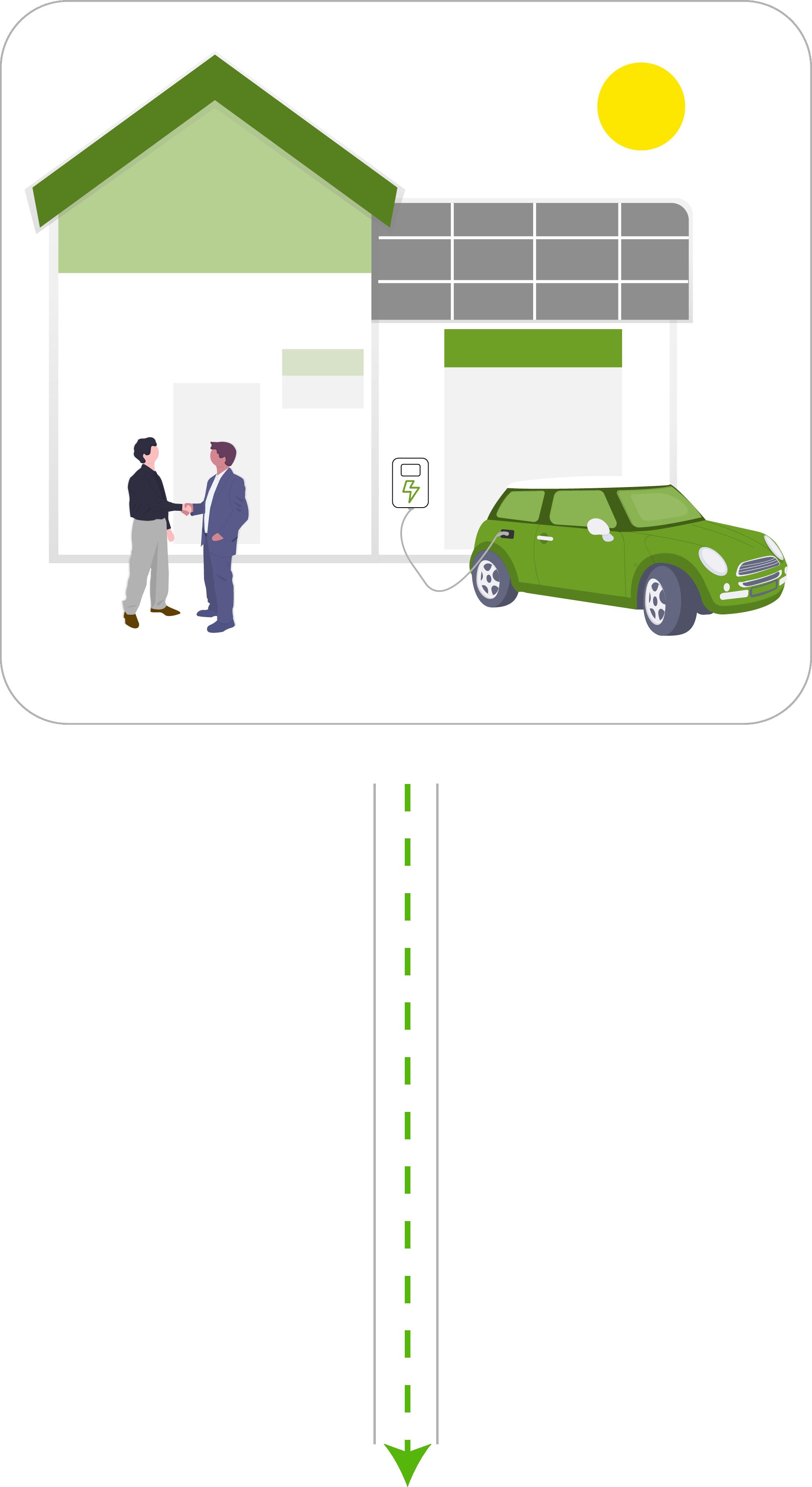 E-Dienstwagen Wallbox