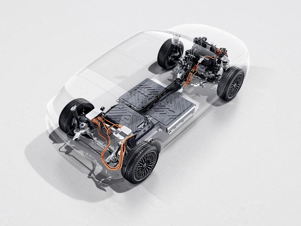 Audi E-Tron Aufbau des Motors