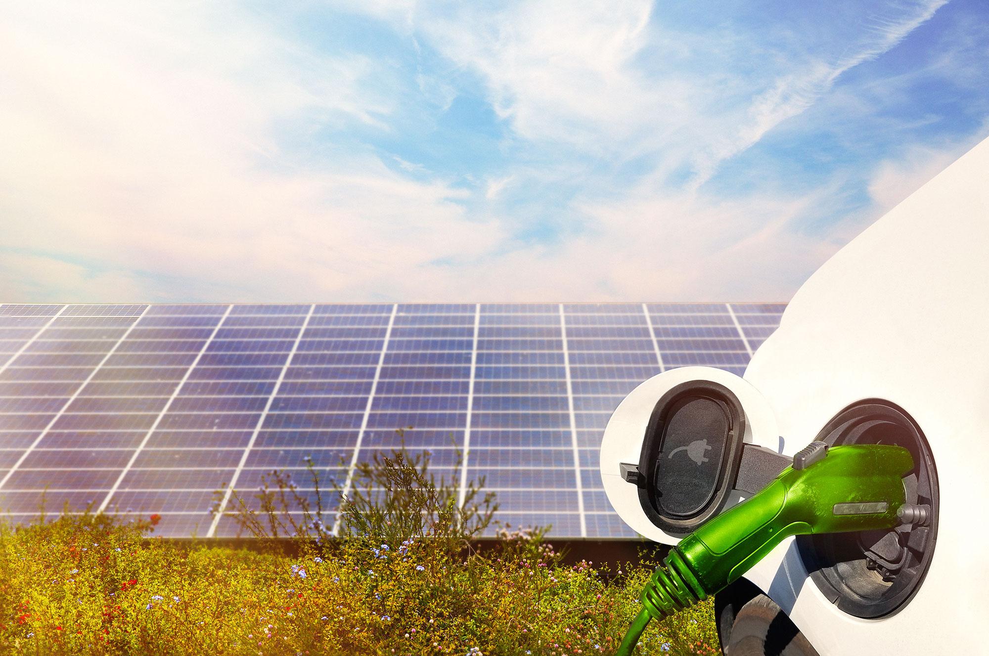 Stromtanken durch erneuerbare Energien