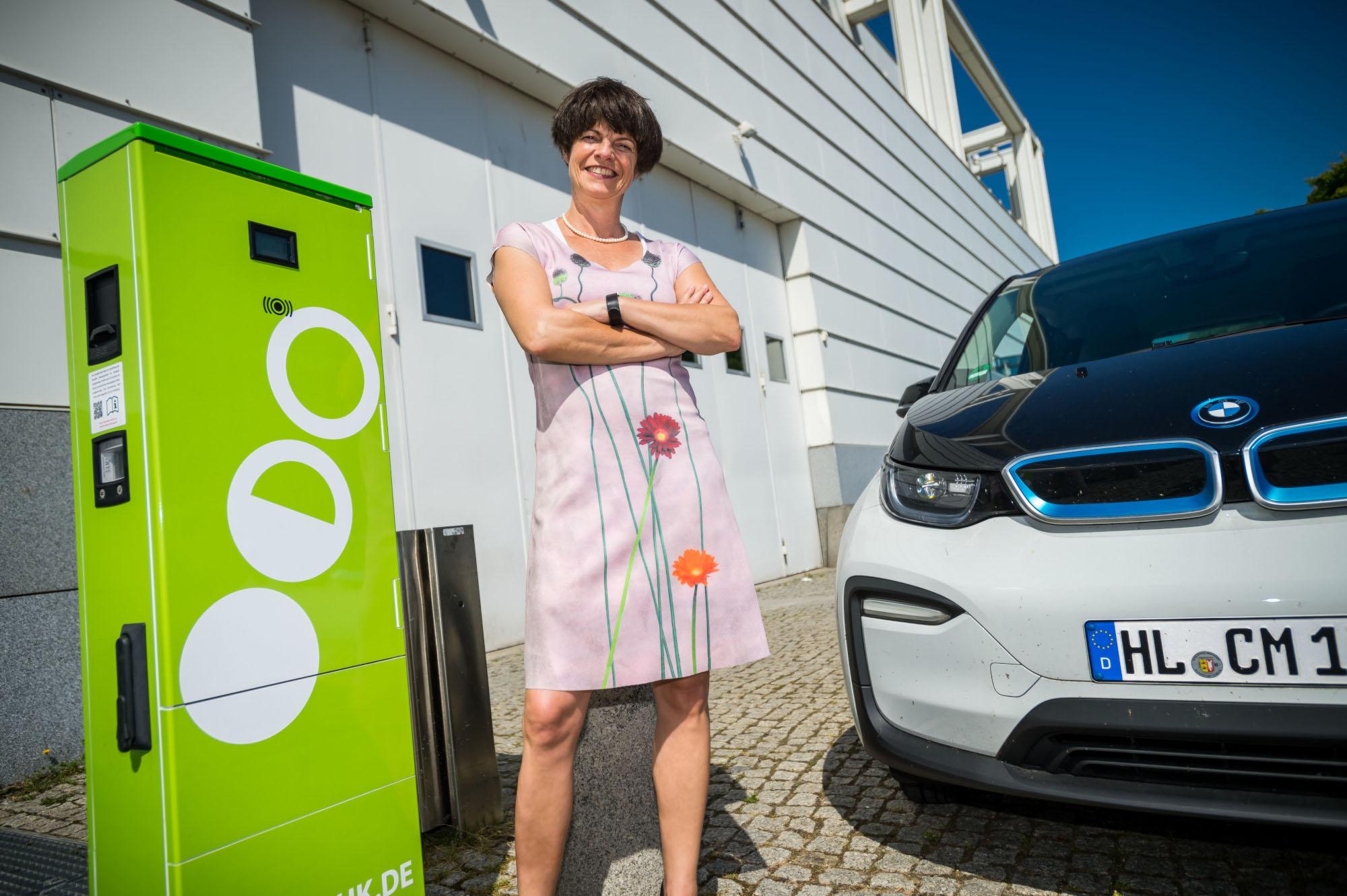 Illona Jarabek und E-Mobility