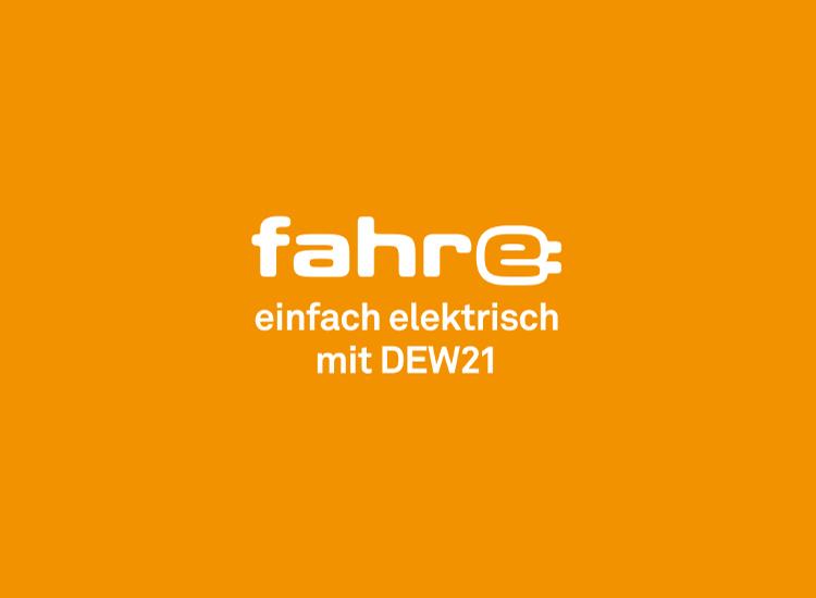 fahr-e einfach elektrisch mit DEW21