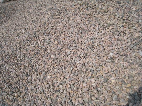 MAKADAM 11/16 - Materialet används som toppbeläggning på vägar och som kapillärbrytande skikt under husgrunder. Även som dekoration.