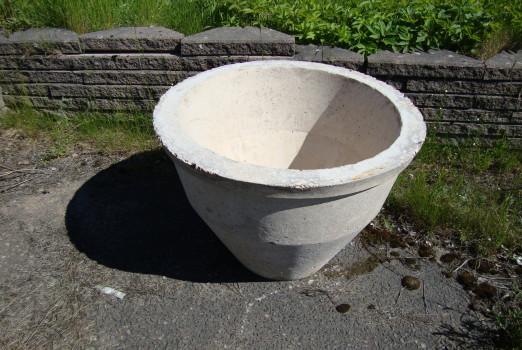 Betongkruka - gjuten betong