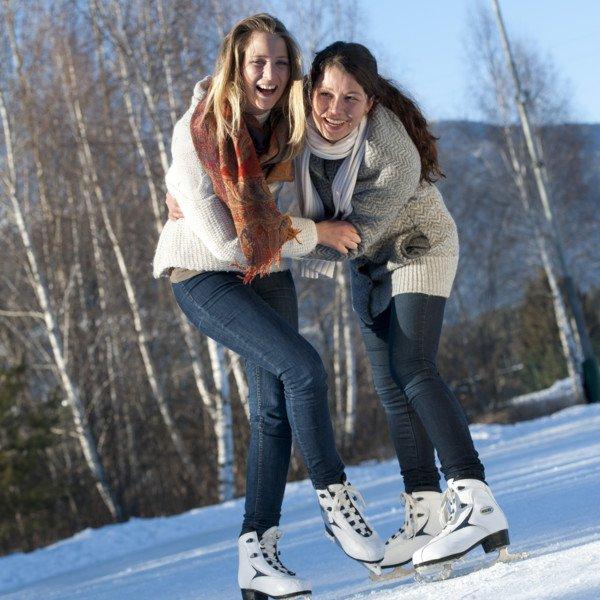 Aktivitäten Eislaufplätze in St. Vigil und St. Martin