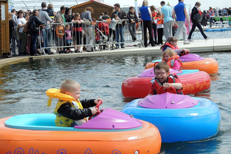 Bumpy, petit bateau electrique pour enfant