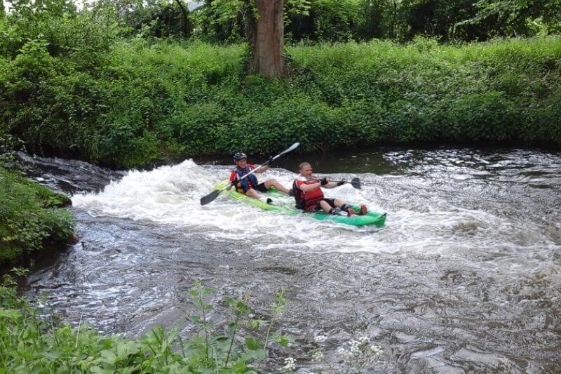 Canoë kayak à la croix saint-leufroy | demi-journée