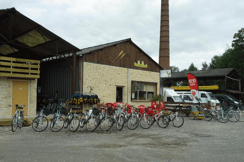 Location vélo à la croix