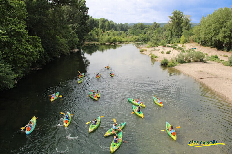 Location canoë-kayak-paddle à partir de 9 €/pers