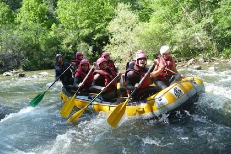 Rafting initiation : saint georges gorges